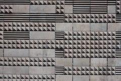 Geometrisk tegelplattatexturbakgrund arkivbilder