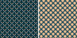 Geometrisk textur av den dyra tapeten Royaltyfri Foto