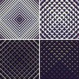 Geometrisk textur för ljus och för skugga Royaltyfria Foton