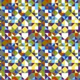 Geometrisk triangel belagd med tegel modellbakgrund royaltyfri fotografi