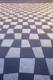 geometrisk trottoar Royaltyfri Foto
