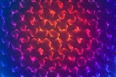 Geometrisk vektorabstrakt begreppbakgrund Fotografering för Bildbyråer