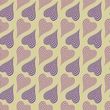 Geometrisk vektorillustration stock illustrationer