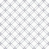 Geometrisk vektormodell och att upprepa linjär fyrkant- och diamantform med korset på varje hörn vektor illustrationer
