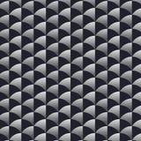 Geometrisk vektormodell som upprepar cirkeln i halva med halv lutning- och halvaskugga stock illustrationer
