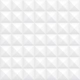 Geometrisk vit bakgrund Arkivbild