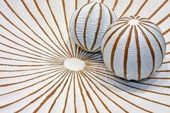 geometriska bollar Royaltyfria Bilder