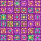 Geometriska en Tone Seamless Pattern Royaltyfria Bilder