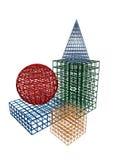 Geometriska former 5 Arkivbilder