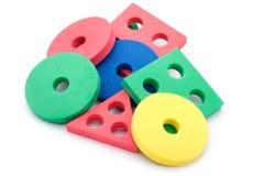 geometriska former för barn Royaltyfri Fotografi