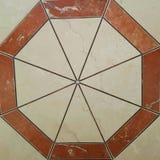 Geometriska former för tegelplatta Royaltyfria Bilder