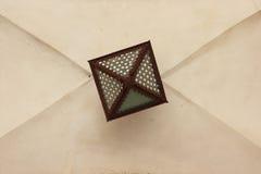 Geometriska former i lampor Fotografering för Bildbyråer