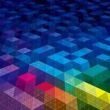 Geometriska modellbakgrunder Arkivbild