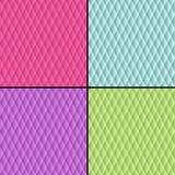Geometriska papperstexturer för sömlös modell Royaltyfri Fotografi