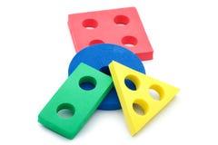 geometriska setformer för barn Royaltyfri Foto