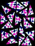 geometriska trianglar Royaltyfri Fotografi