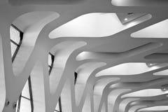 geometriska väggar Arkivbilder