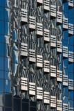 Geometriskt arkitektoniskt abstrakt begrepp Royaltyfri Bild