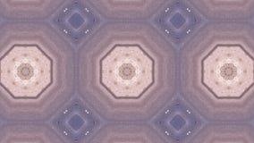 Geometriskt kalejdoskopiskt för mosaisk fractal stock illustrationer