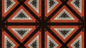 Geometriskt kalejdoskopiskt för mosaisk fractal royaltyfri illustrationer