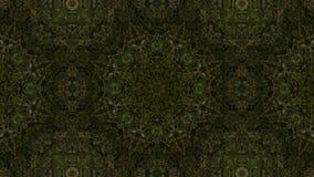 Geometriskt kalejdoskopiskt för mosaisk fractal arkivfilmer