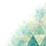 Geometriskt kort Arkivfoto