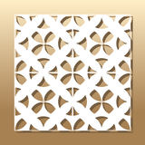 Geometriskt laser-klipp Royaltyfria Bilder