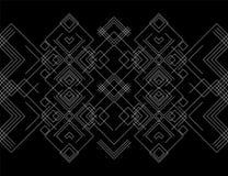 Geometriskt logotyp eller emblem arkivfoton
