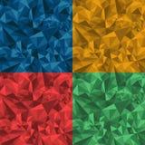 Geometriskt mönstra Arkivfoton