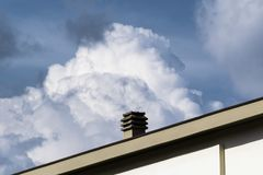 Geometriskt moln Arkivbild