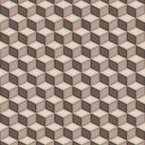 Geometriskt sömlöst för modellkubtrappuppgång Arkivfoton