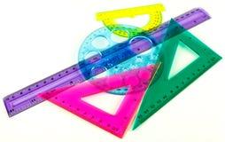 Geometriuppsättning Fotografering för Bildbyråer