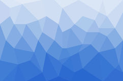 Geometrix Blue ocean texture background. Stock Image