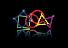 geometry illustrazione di stock