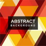 Geometry Abstract background hot tone design. Background color red,orange and yellow vector illustration