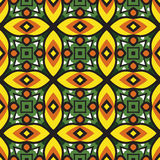 Geometry abstract  deamless pattern background Stock Photos
