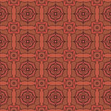 Geometry abstract  deamless pattern background Royalty Free Stock Photography