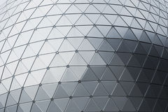 Geometry aluminium composite material & x28;ACM& x29; Office building Royalty Free Stock Image