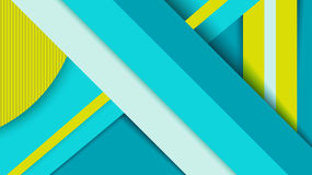 Geometry background, material design concept Royalty Free Stock Images