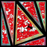 Geometry background triangles color wallpaper Royalty Free Stock Photo