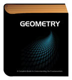Geometry book Royalty Free Stock Images