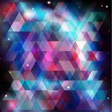 Geometry cosmos background, vector illustration Stock Photo