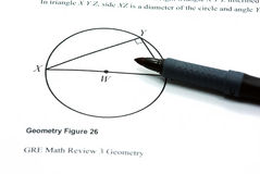 Geometry figure Royalty Free Stock Images