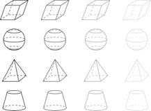Geometry figures Stock Image