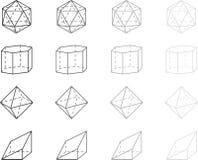 Geometry figures Royalty Free Stock Image