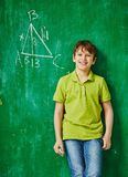 Geometry genius Stock Photography