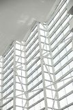 Geometry glass roof. Pattern structure in modern building royalty free stock images