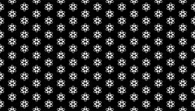 Geometry hexagon, black and white abstract seamless pattern Royalty Free Stock Image
