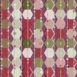 Geometry hexagonal vector seamless pattern. Royalty Free Stock Image