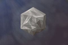 Geometry. I was inspired by an icosahedron Royalty Free Stock Images